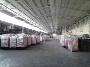 Дровяные и Пеллетные котлы Emtas в складской зоне на заводе в Турции