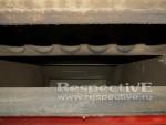 зола в горелке и зольнике котла на пеллетах Emtas